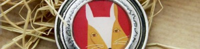 Fox portrait neckless by iStolar on Etsy
