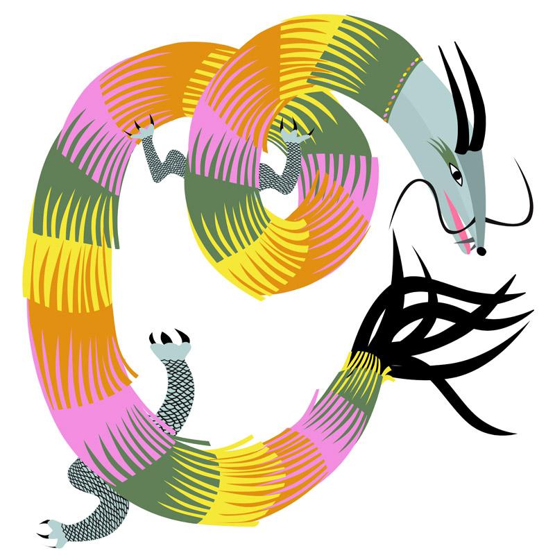 mon dragon pattes