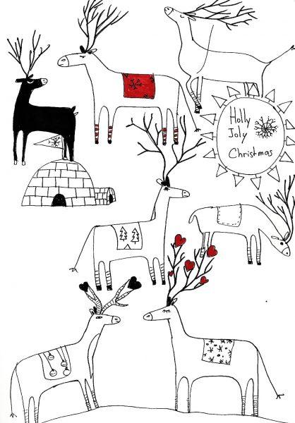 reine noel doodleB