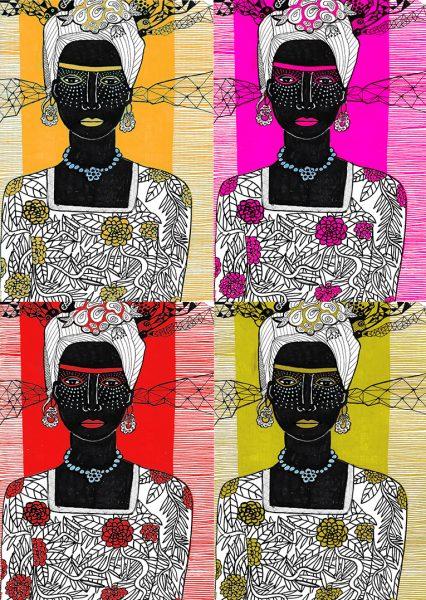 rouge afrique x 4 petit