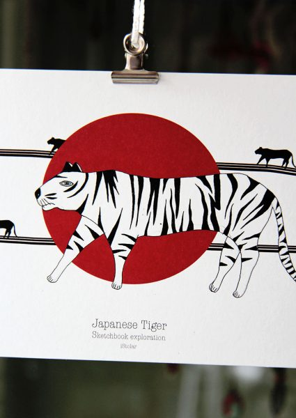 photo tigre japon