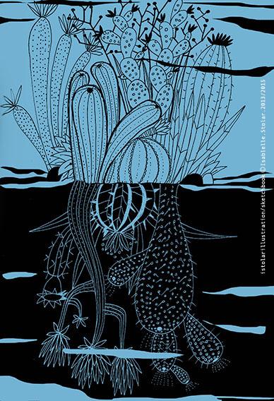 cactus bleu noir 72  copy