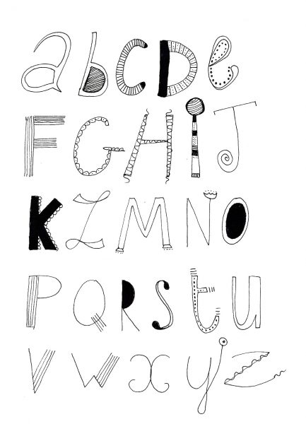 calligraphie doodle 4