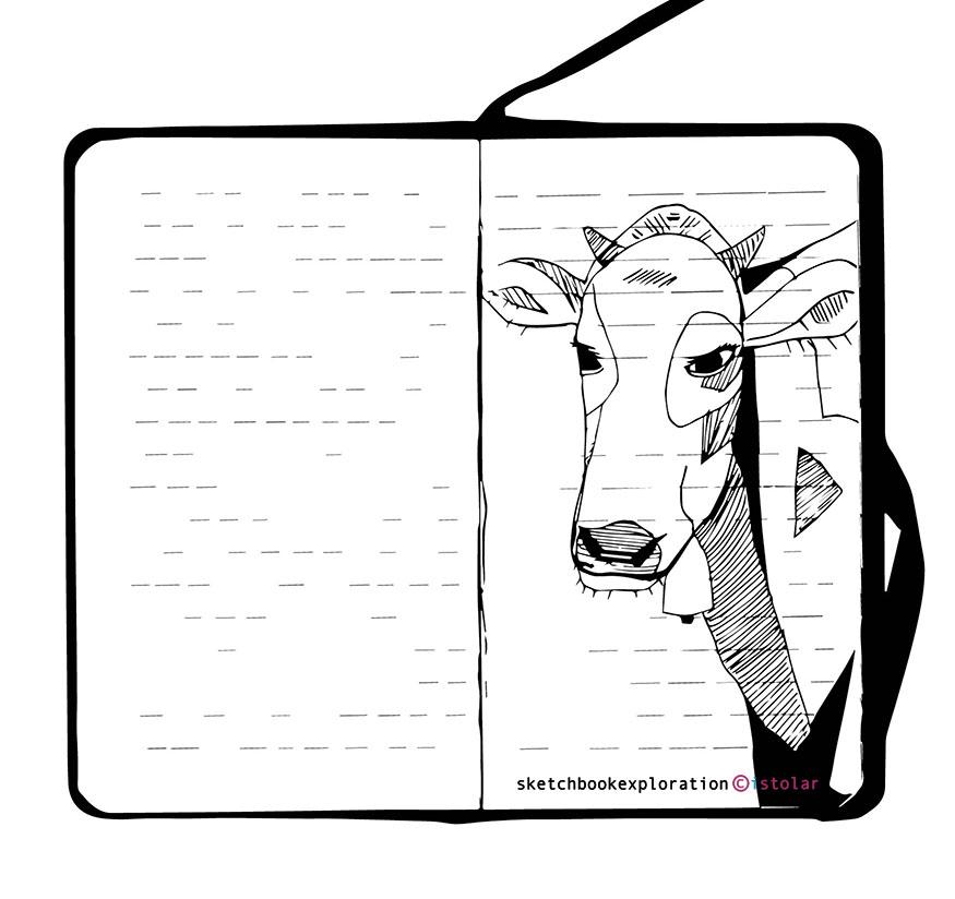 vache carnet blog